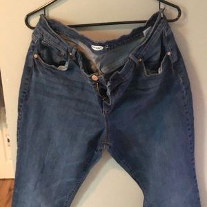 Old Navy Curvy SHORT Straight Jeans